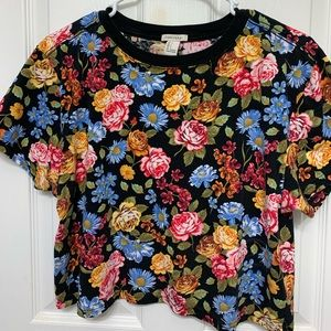Floral Crop Top (F21)